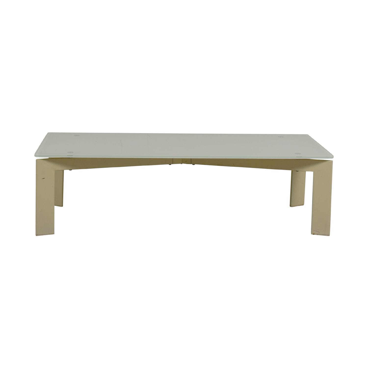 buy White and Beige Coffee Table