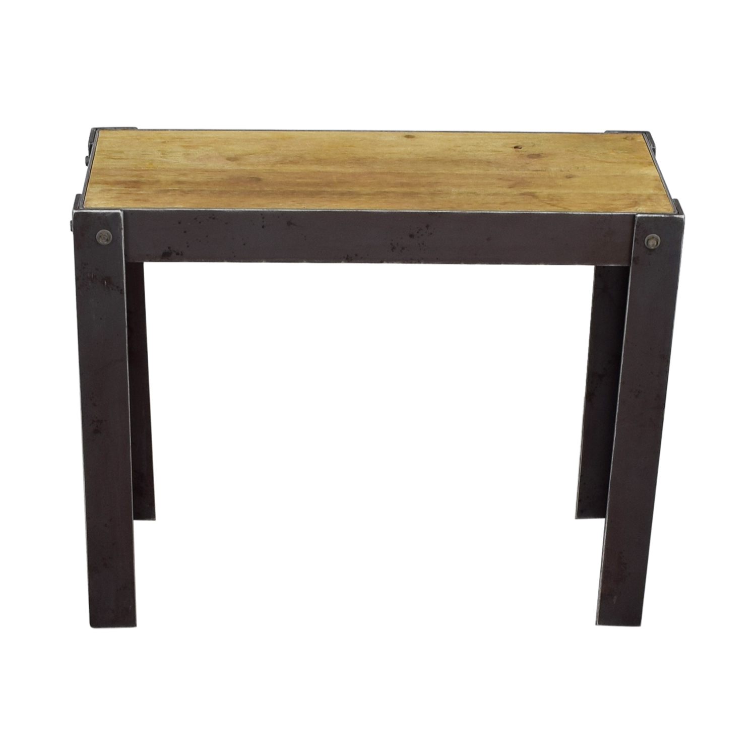 shop Rustic Pine Wood Hallway Stand Utility Tables