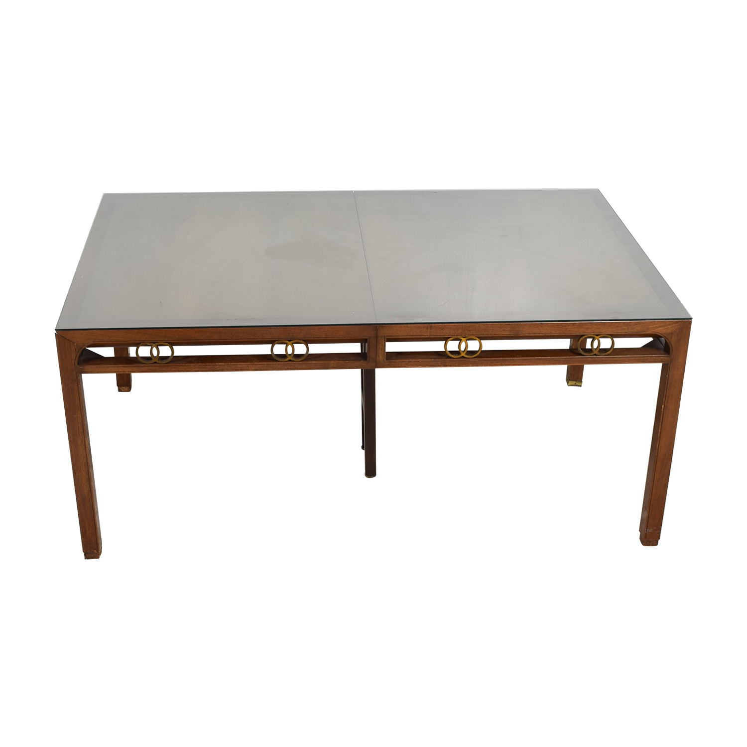 Baker Baker Mid-Century Modern Dining Room Table nyc