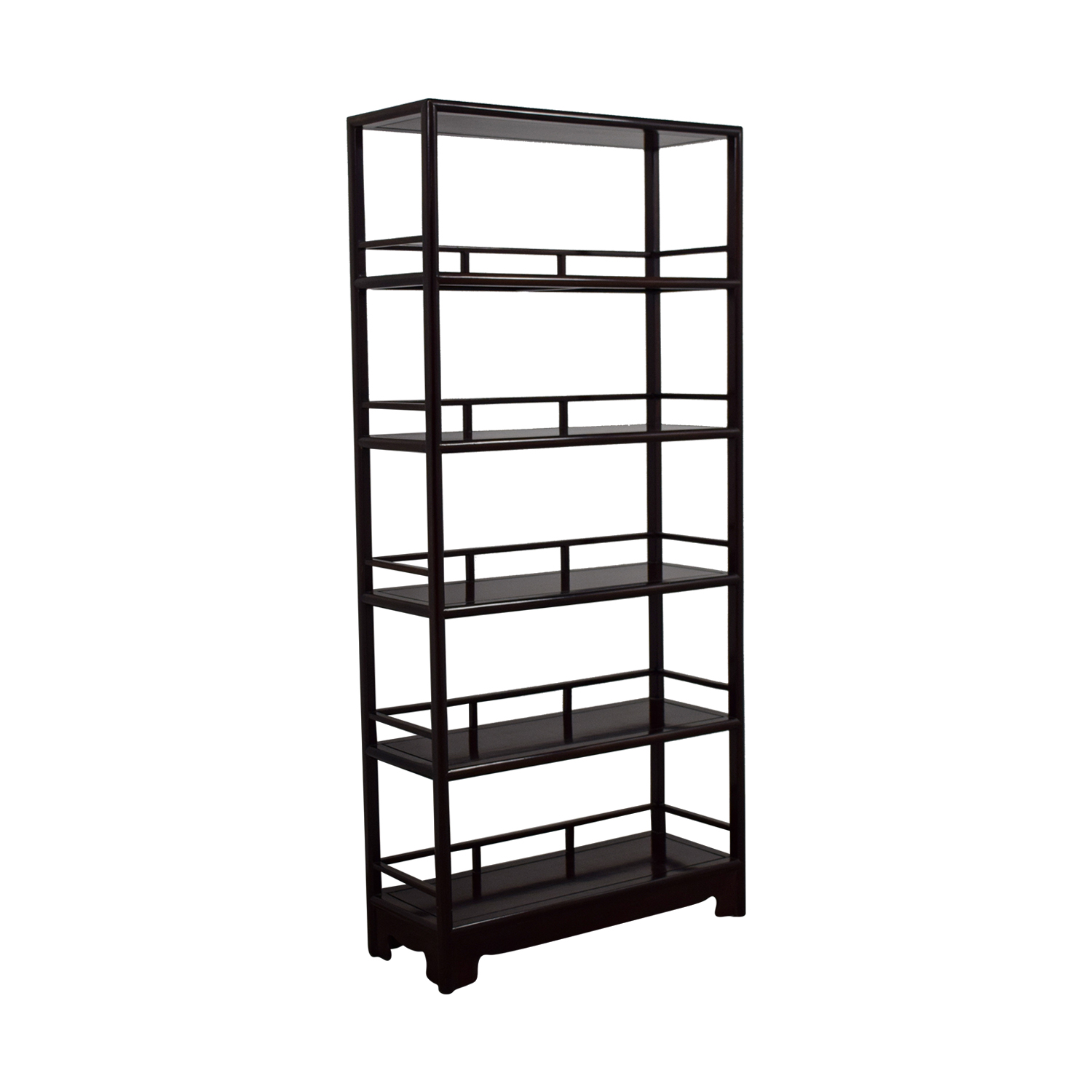buy Five-Shelf Wood Bookcase online