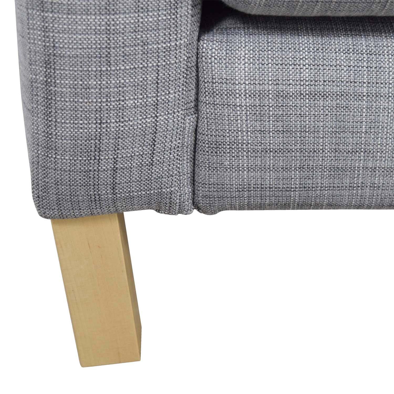 Awe Inspiring 81 Off Ikea Ikea Grey Two Cushion Couch Sofas Download Free Architecture Designs Estepponolmadebymaigaardcom