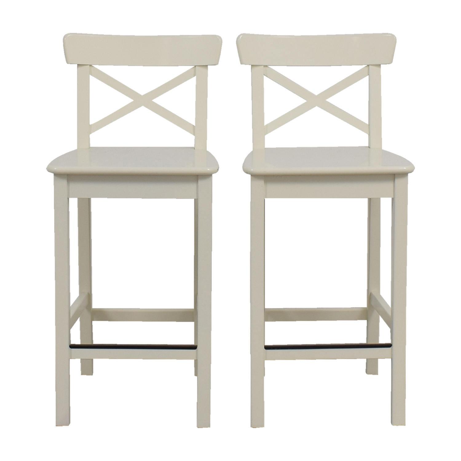 IKEA IKEA White Bar Stools on sale