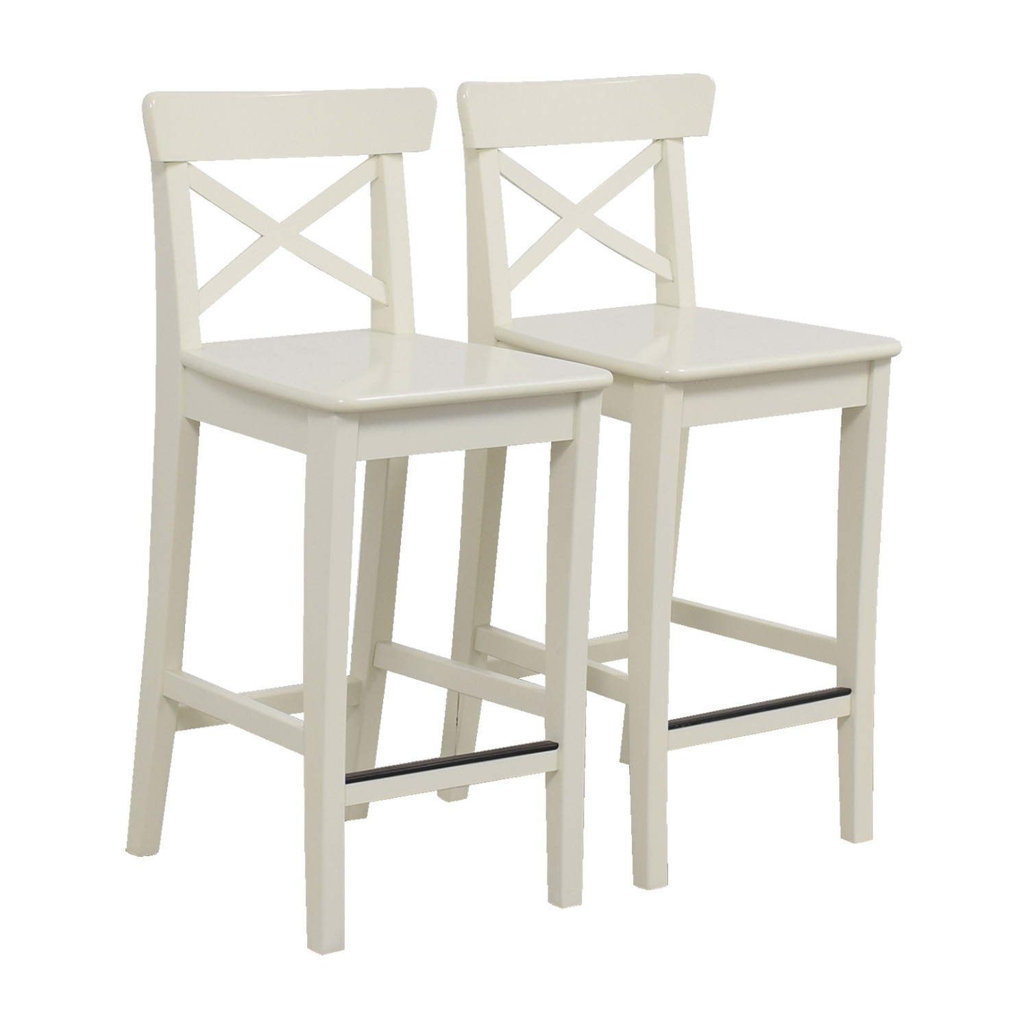 Off ikea white bar stools chairs