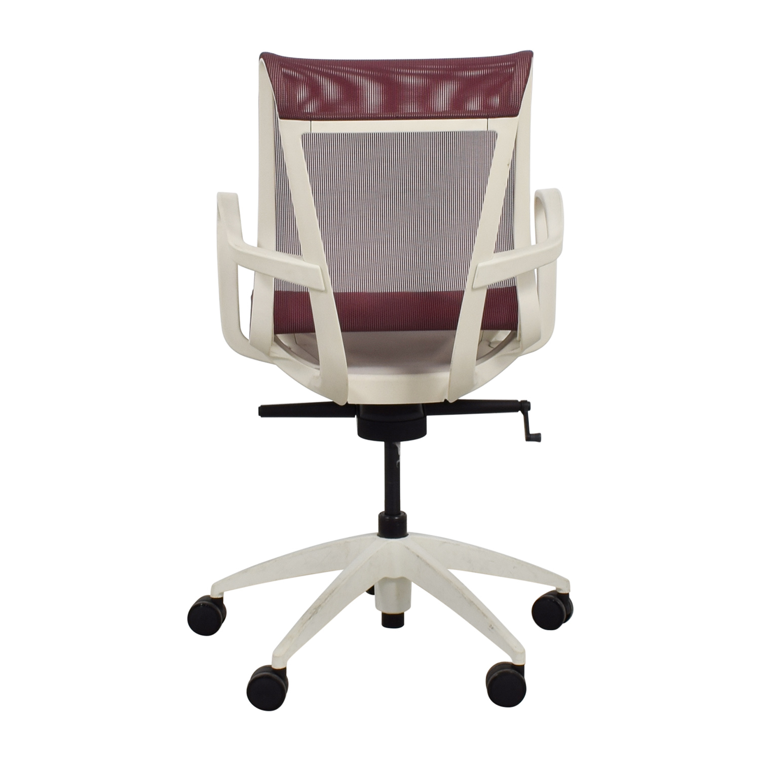 9to5 Seating 9to5 Seating Cydia Lavender Mesh Chair for sale