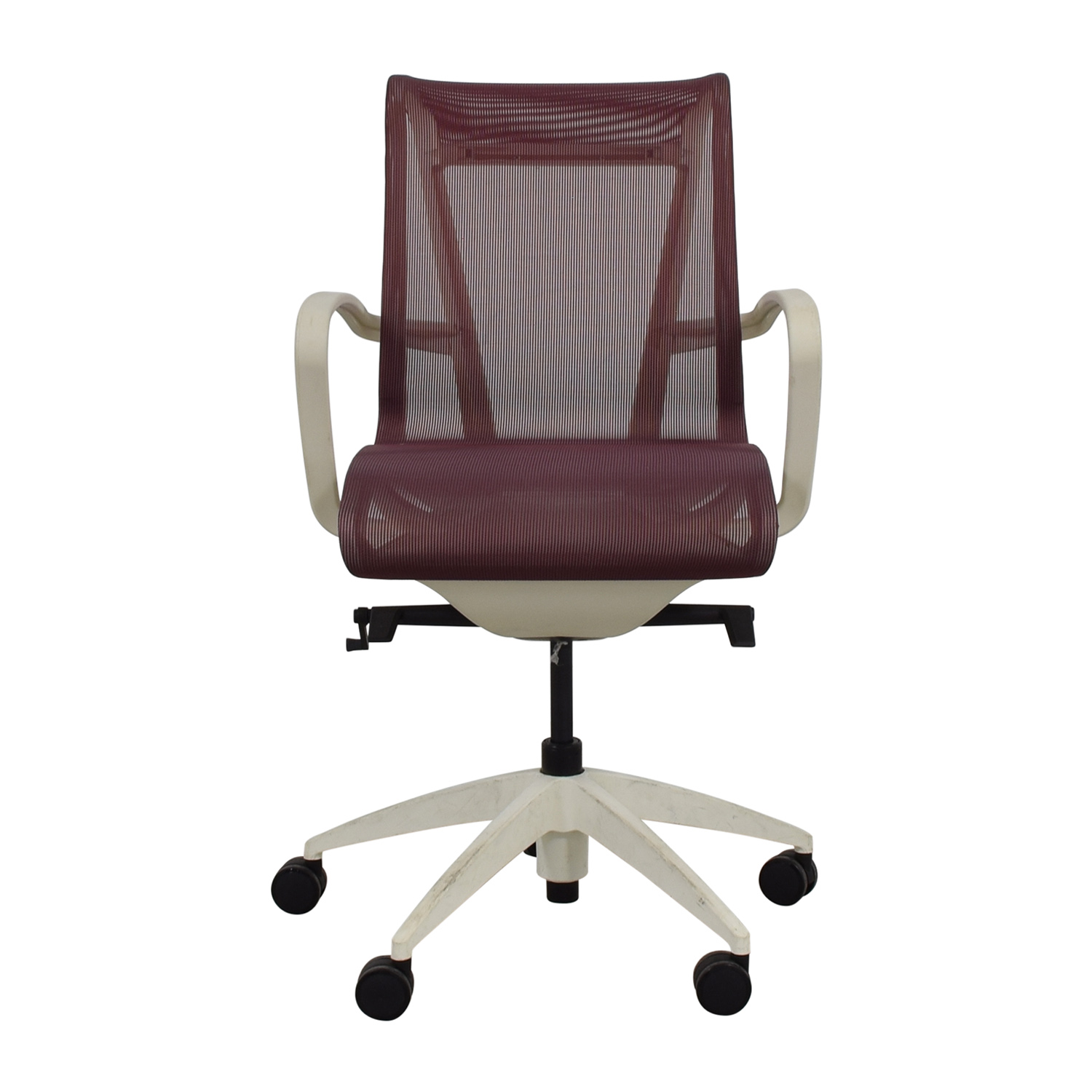 9to5 Seating 9to5 Seating Cydia Lavender Mesh Chair Chairs