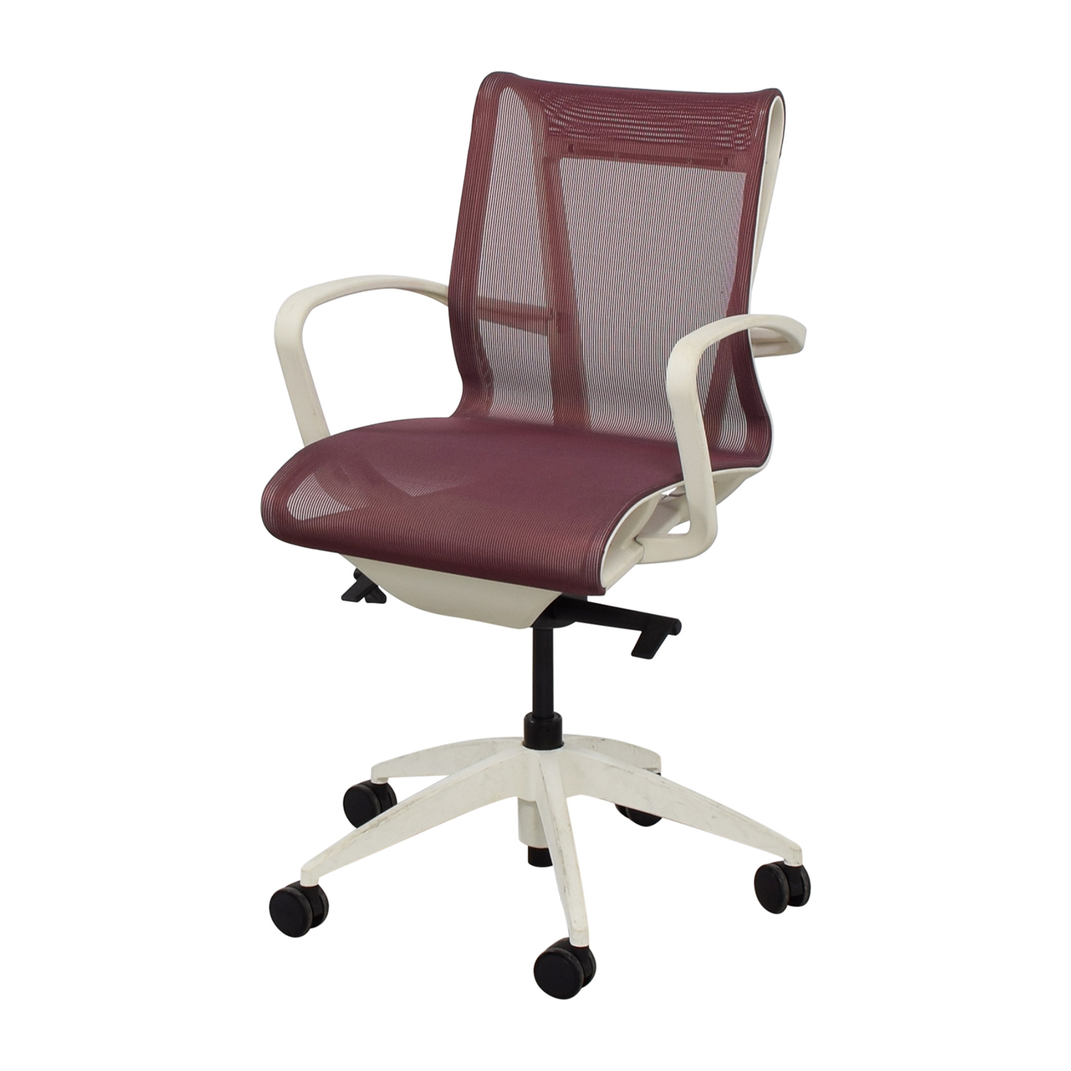90 off 9to5 seating 9to5 seating cydia lavender mesh chair chairs