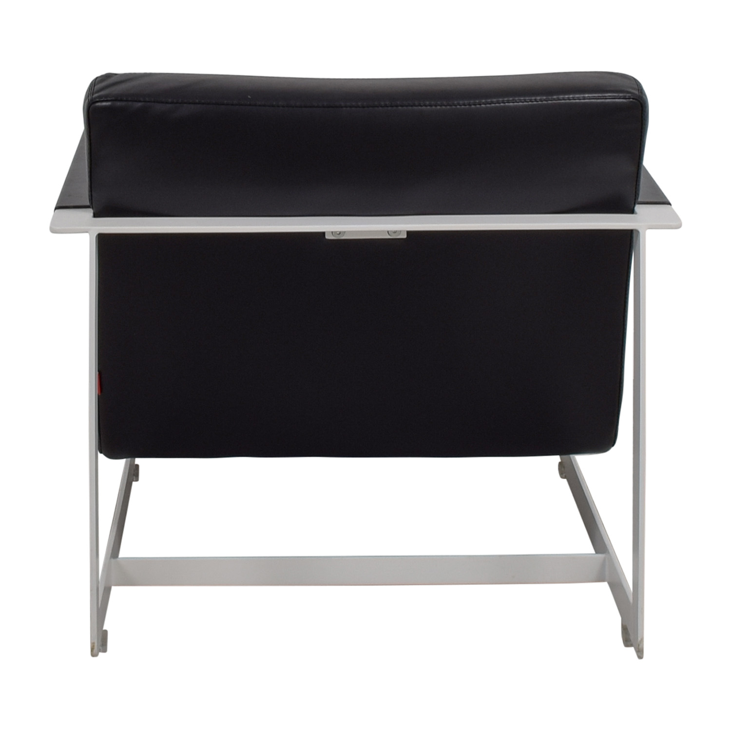 Modloft Modloft Crosby Black and White Lounge Chair Black
