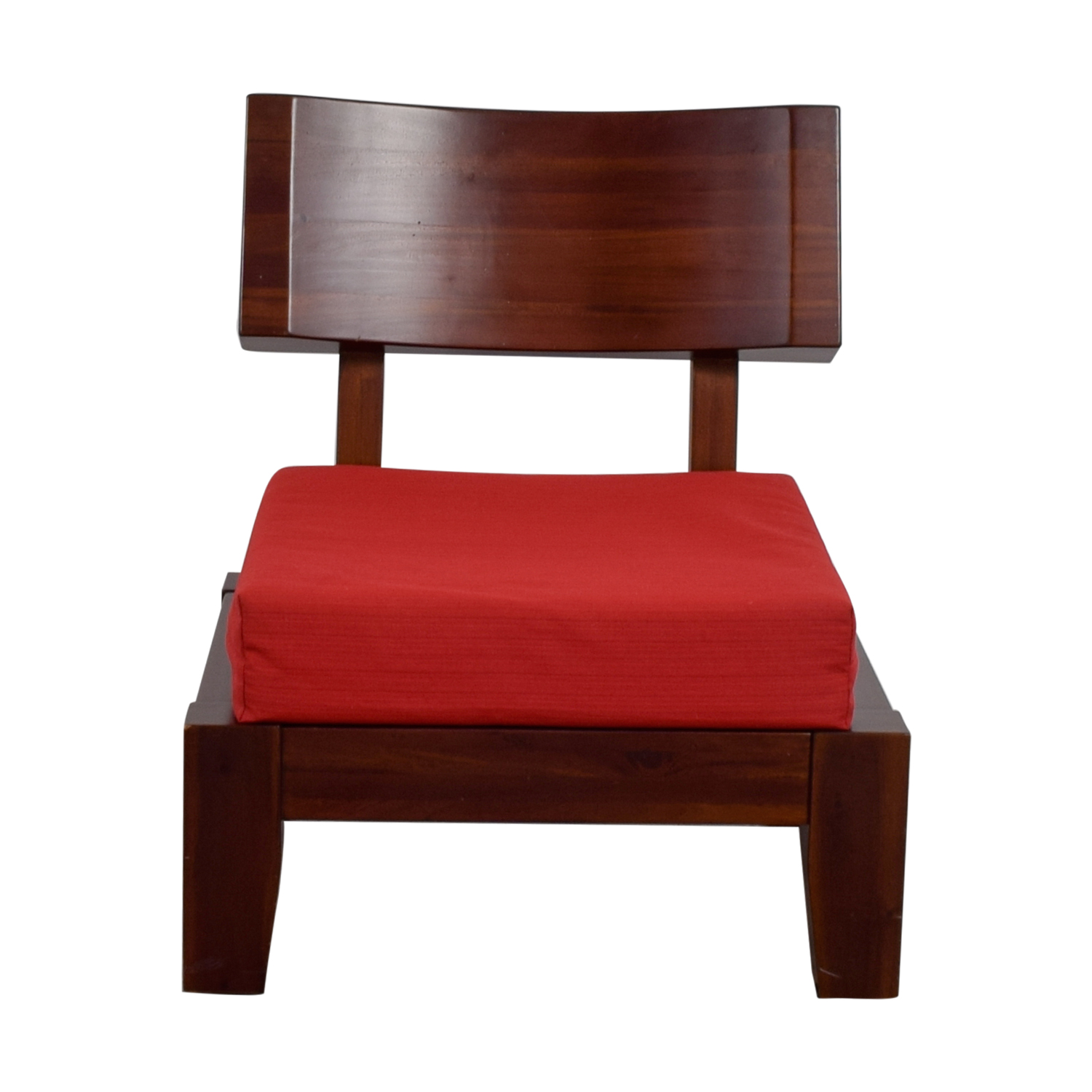 Shop Haverty Red Wood Sleeper Chair Haverty Accent Chairs ...