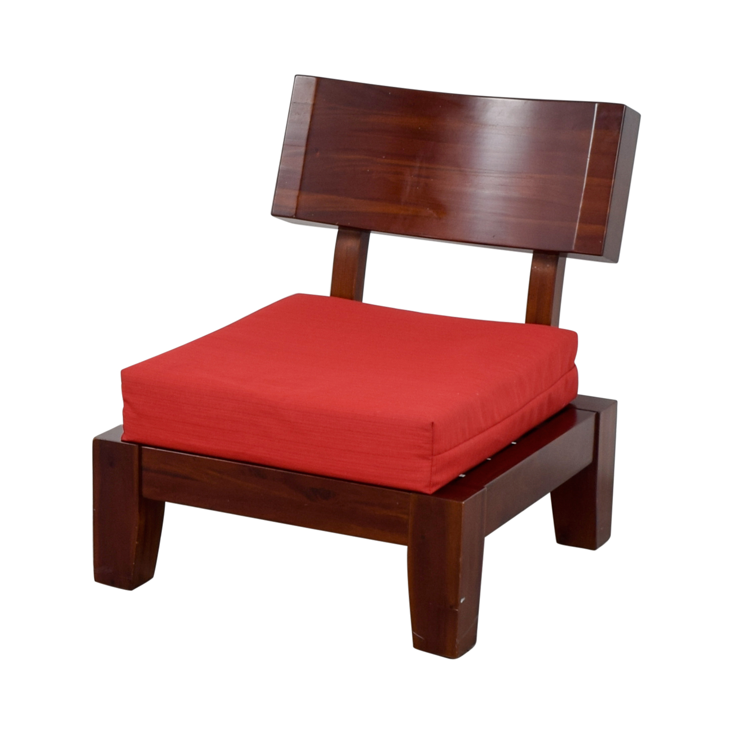OFF Haverty Haverty Red Wood Sleeper Chair Chairs