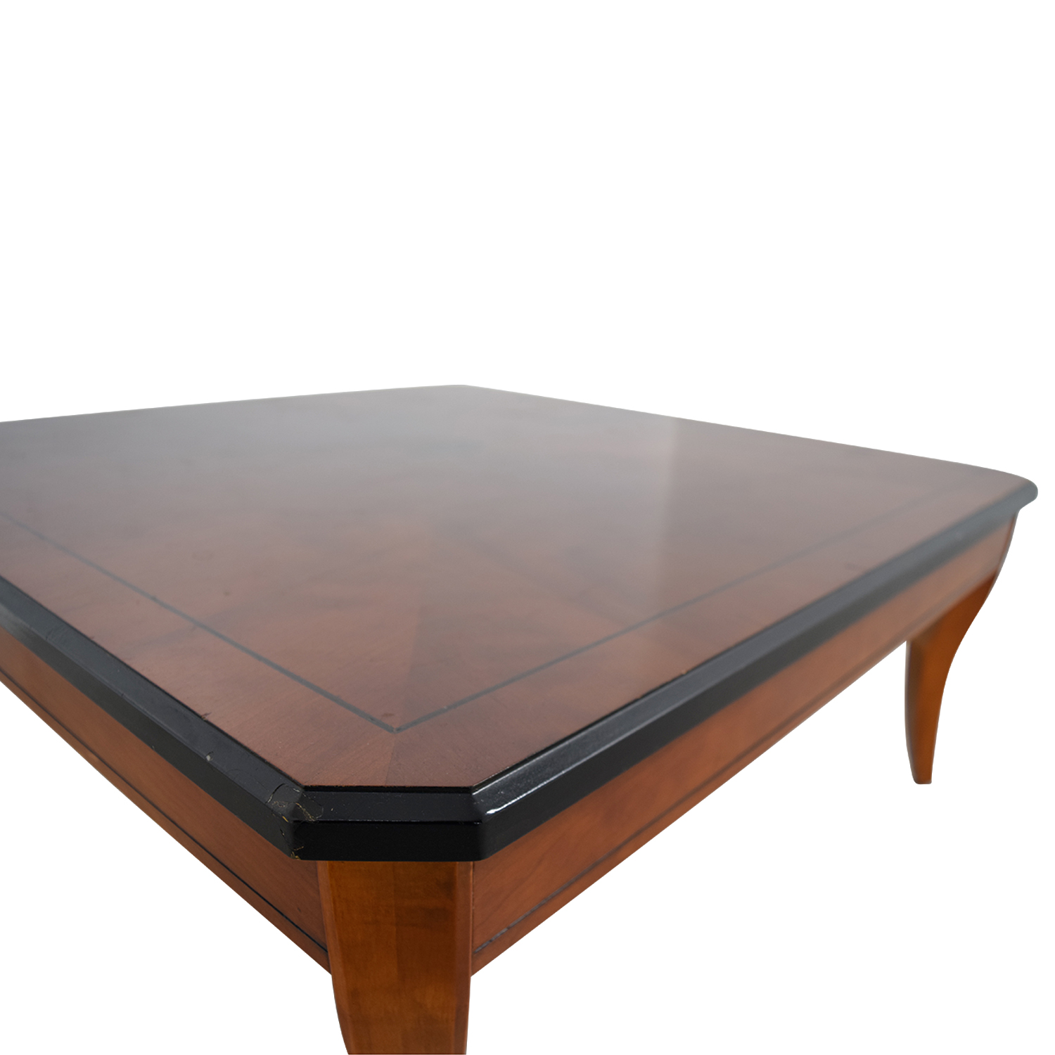 Cherry Wood Square Coffee Table coupon