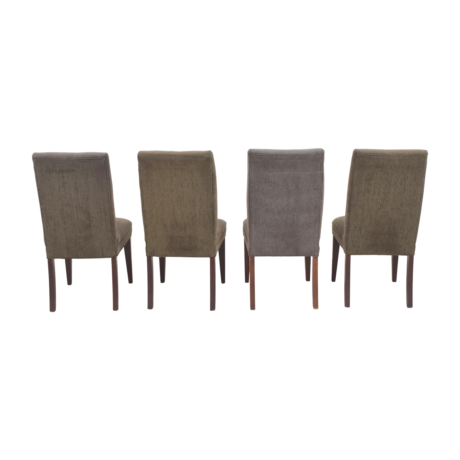 Restoration Hardware Restoration Hardware Olive Green Dining Chairs discount