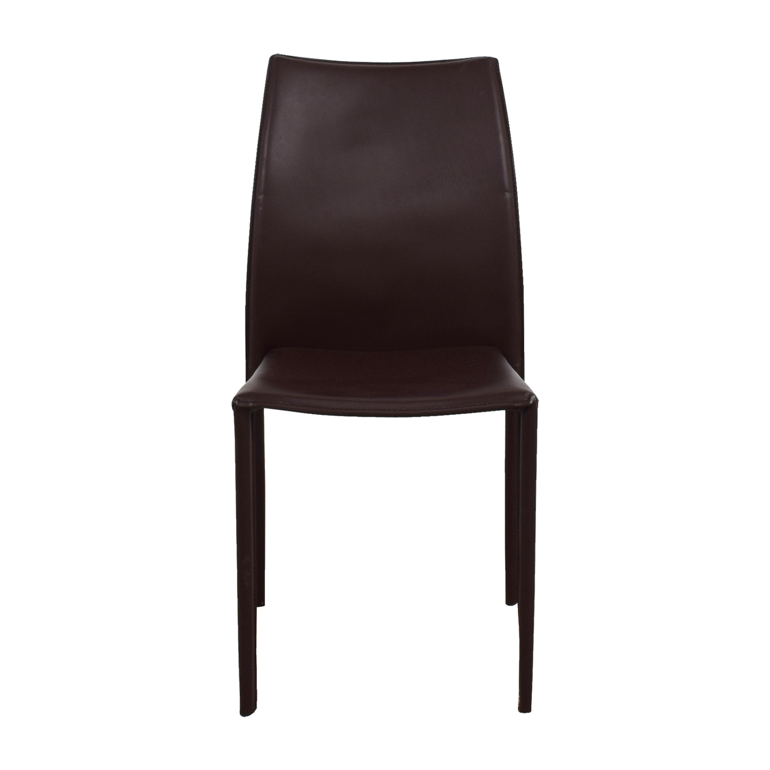 CB2 CB2 Brown Chair nj