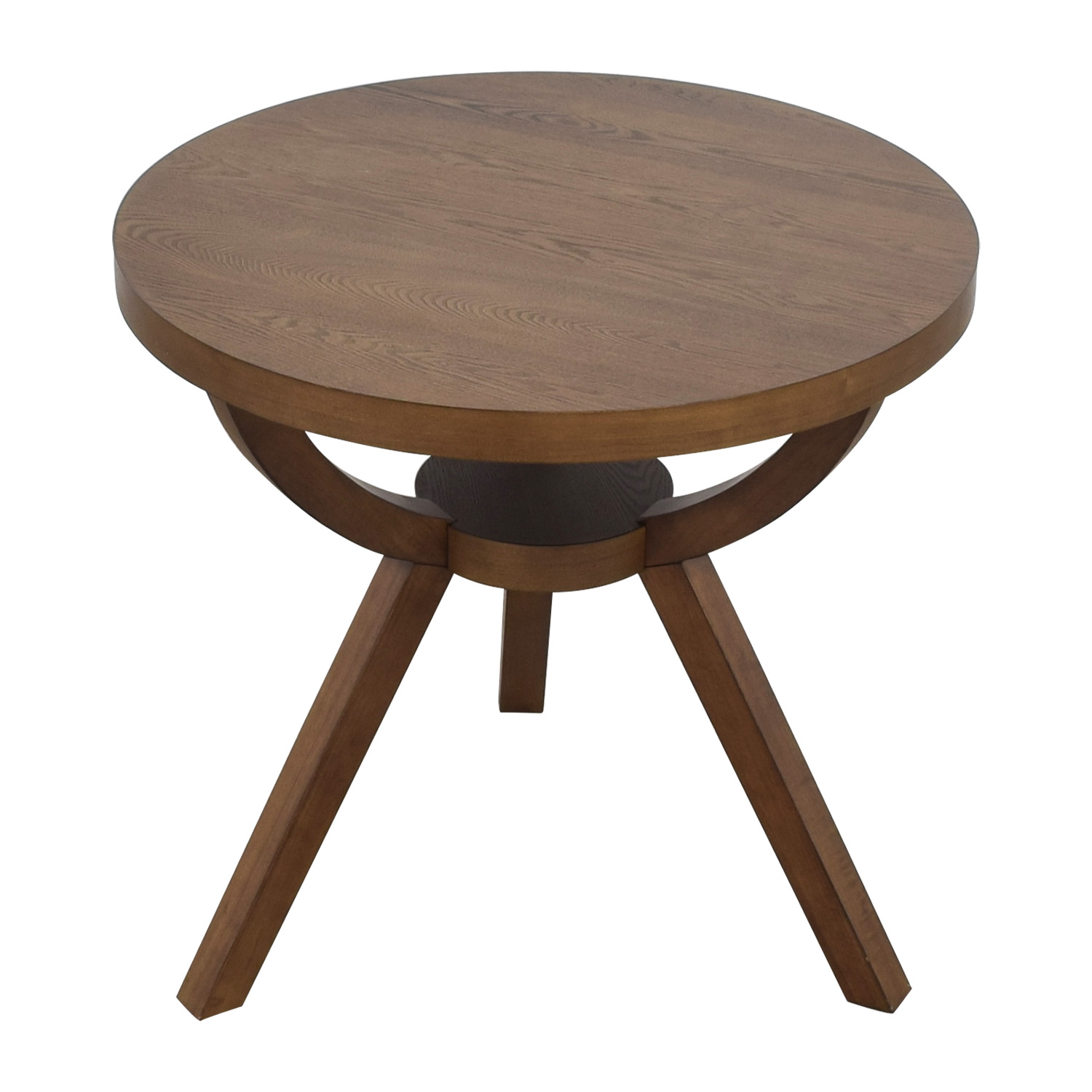 West Elm West Elm Round Wood Arc Table coupon