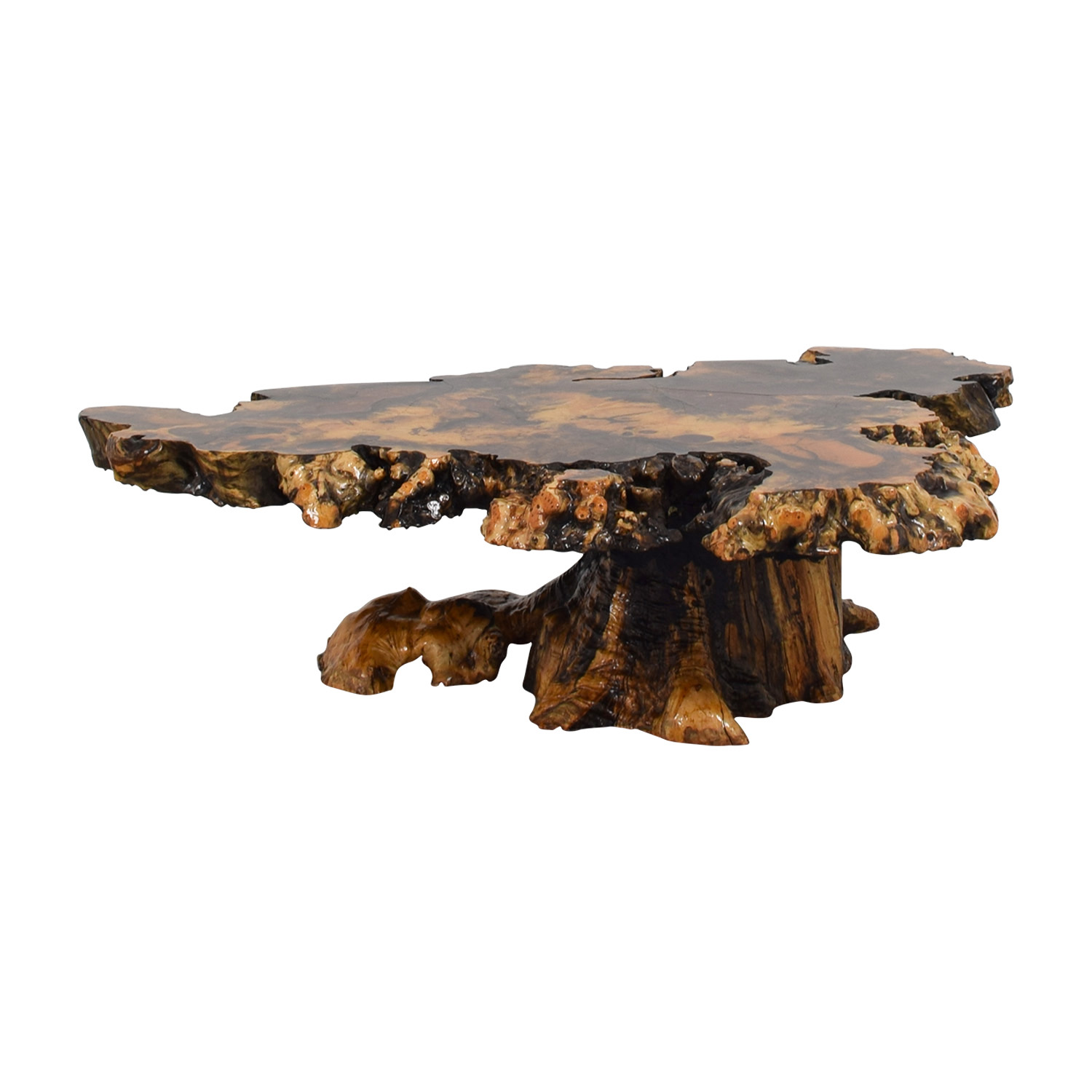 Holland california burlwood coffee table tables