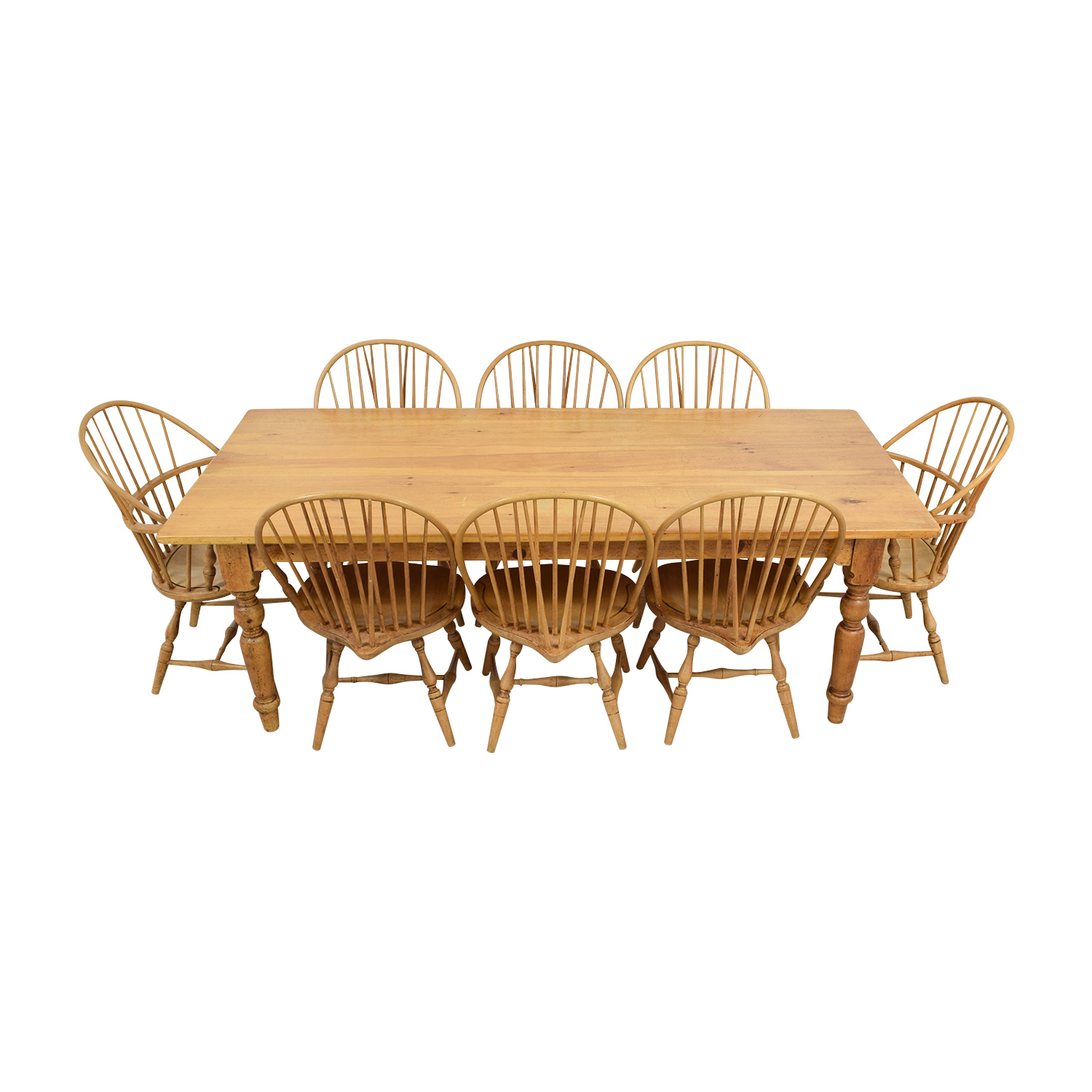 buy Custom Extendable Rustic Wood Dining Set