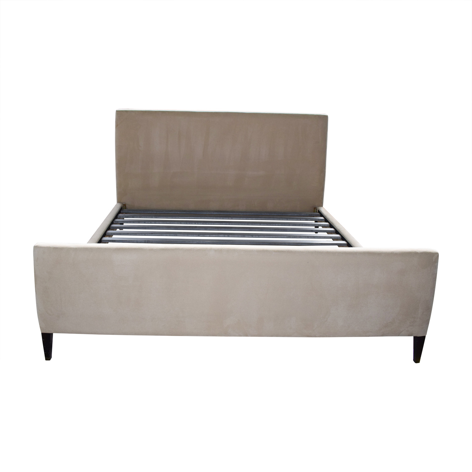 Room & Board Room & Board Tan King Bed Frame second hand
