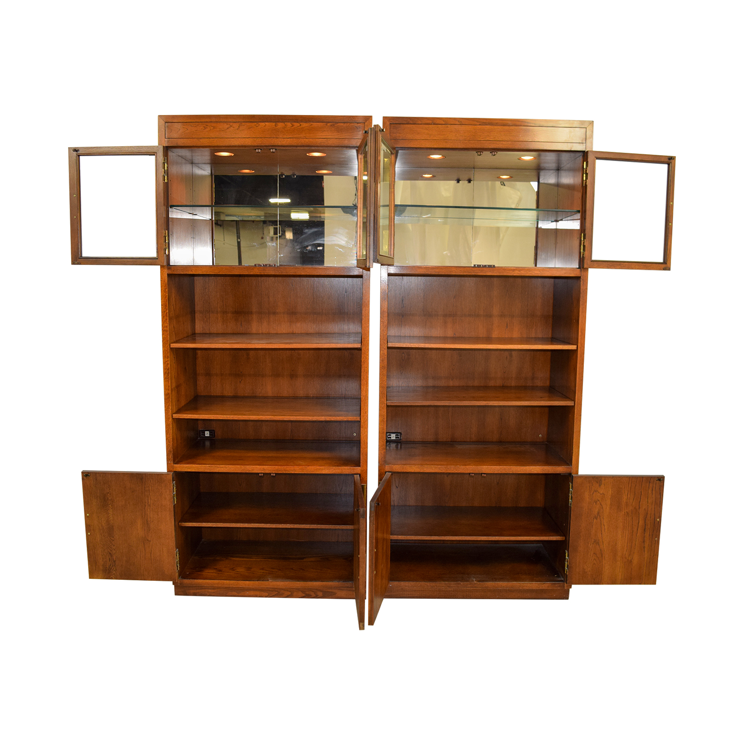 buy Henredon Scene One Wall Units Henredon Bookcases & Shelving