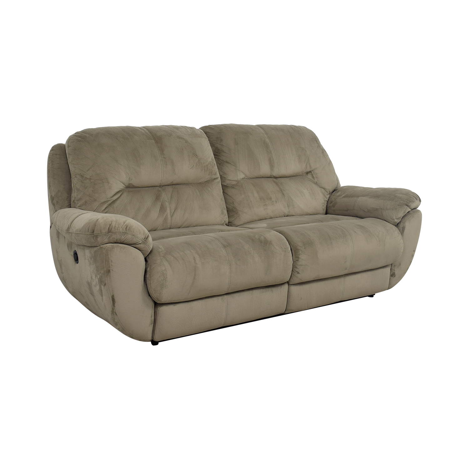 Raymour And Flanigan Leather Reclining Sofa