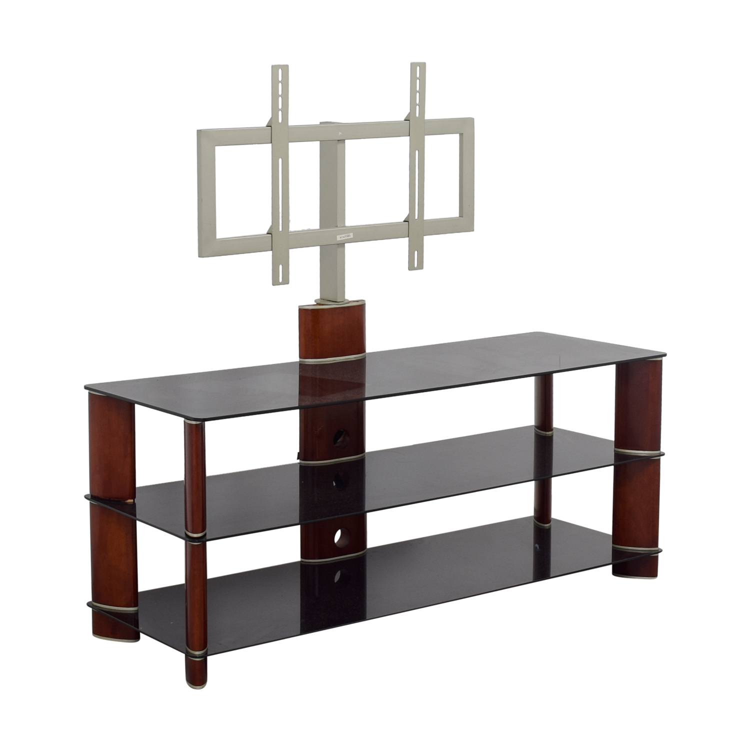 PC Richards PC Richards Tempered Glass TV Stand for sale