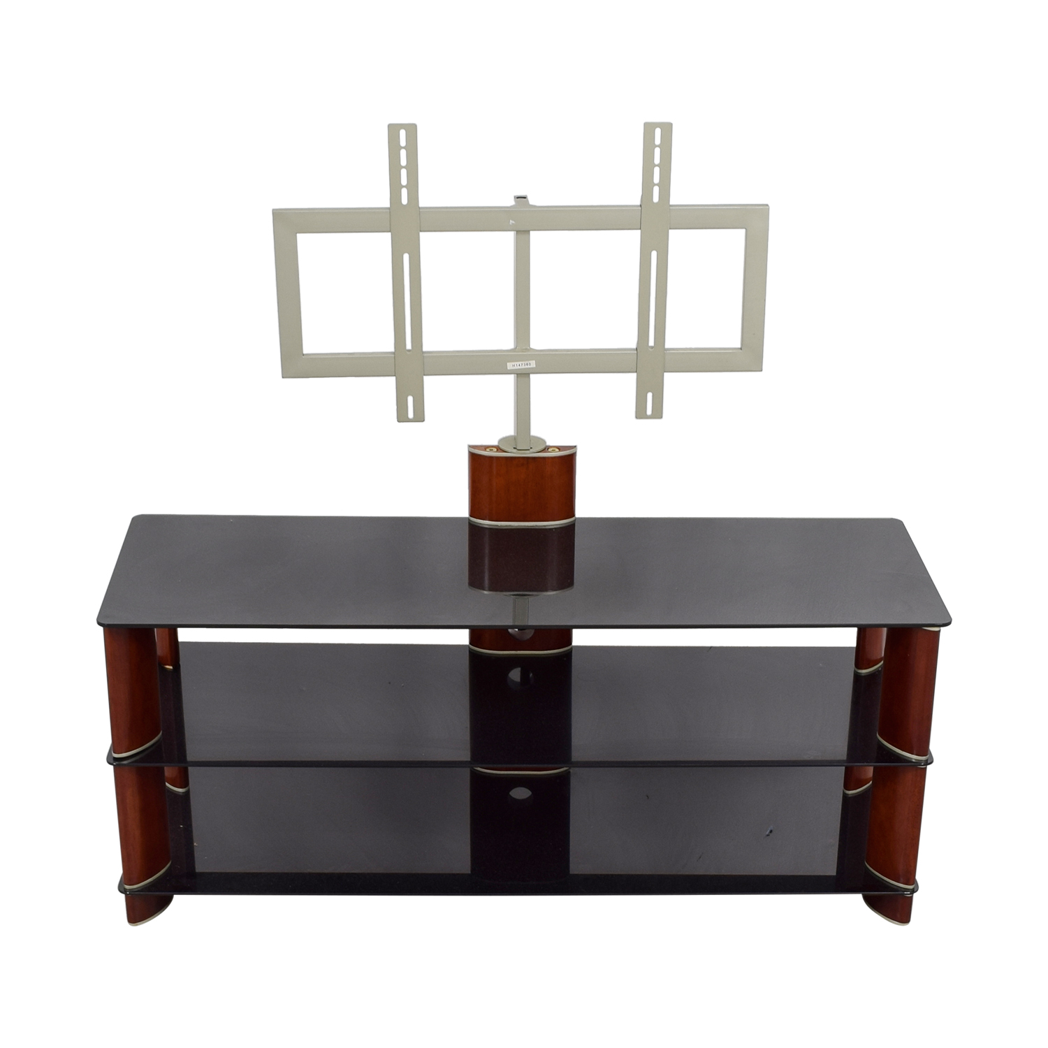 Ordinaire 89% OFF   PC Richard PC Richards Tempered Glass TV Stand / Storage