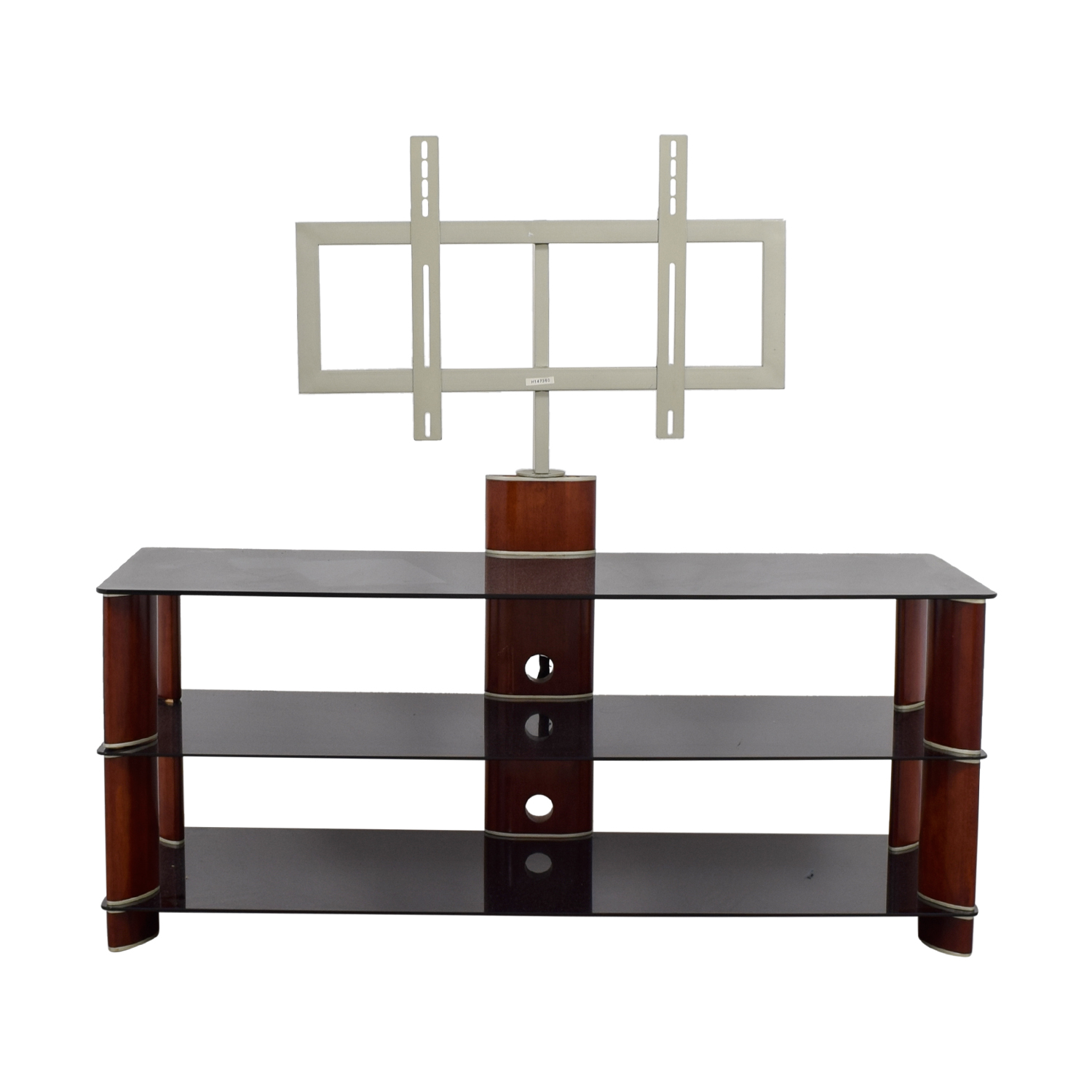 Terrific 89 Off Pc Richard Pc Richards Tempered Glass Tv Stand Storage Gamerscity Chair Design For Home Gamerscityorg
