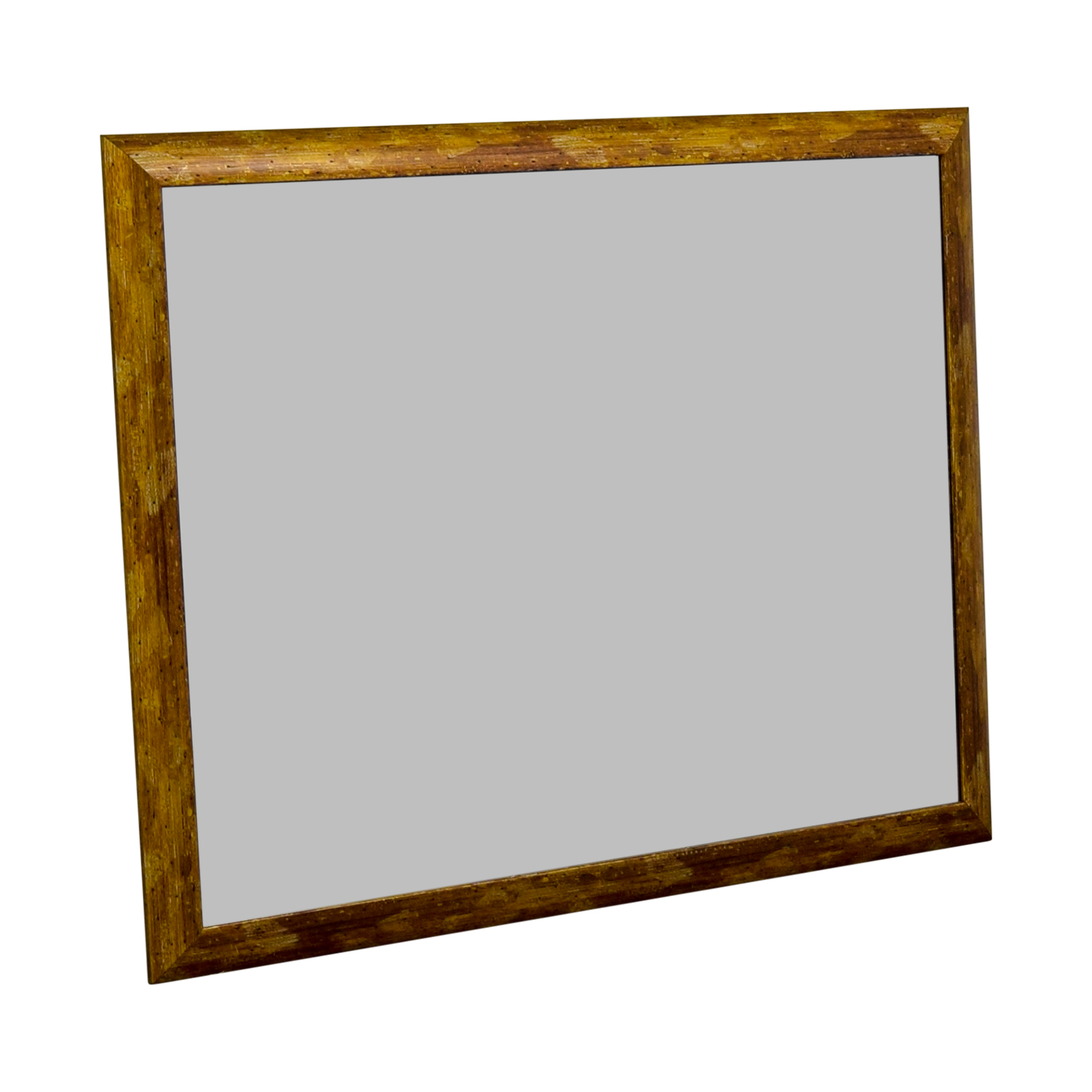 ABC Carpet & Home ABC Carpet & Home Distressed Gold Wall Mirror wood/glass