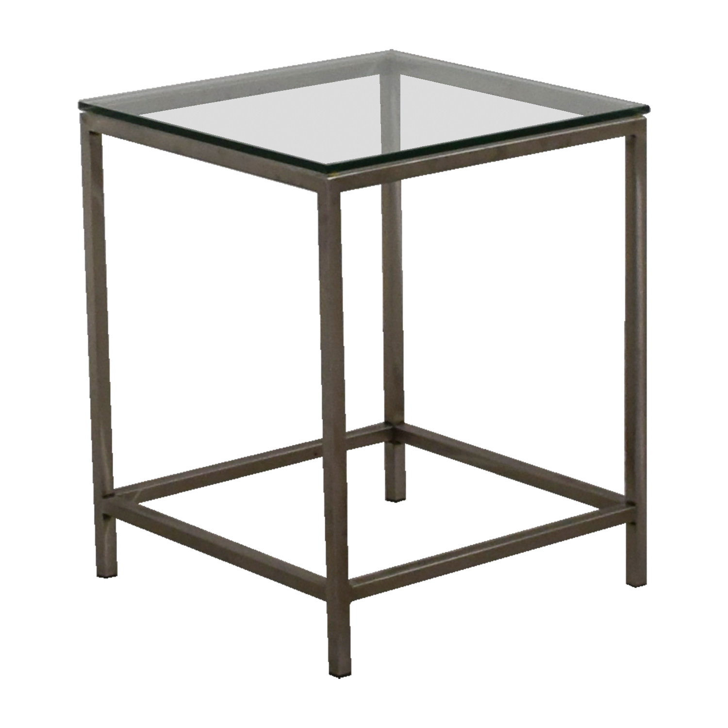 Crate And Barrel Tables: Crate & Barrel Crate & Barrel Square Glass And