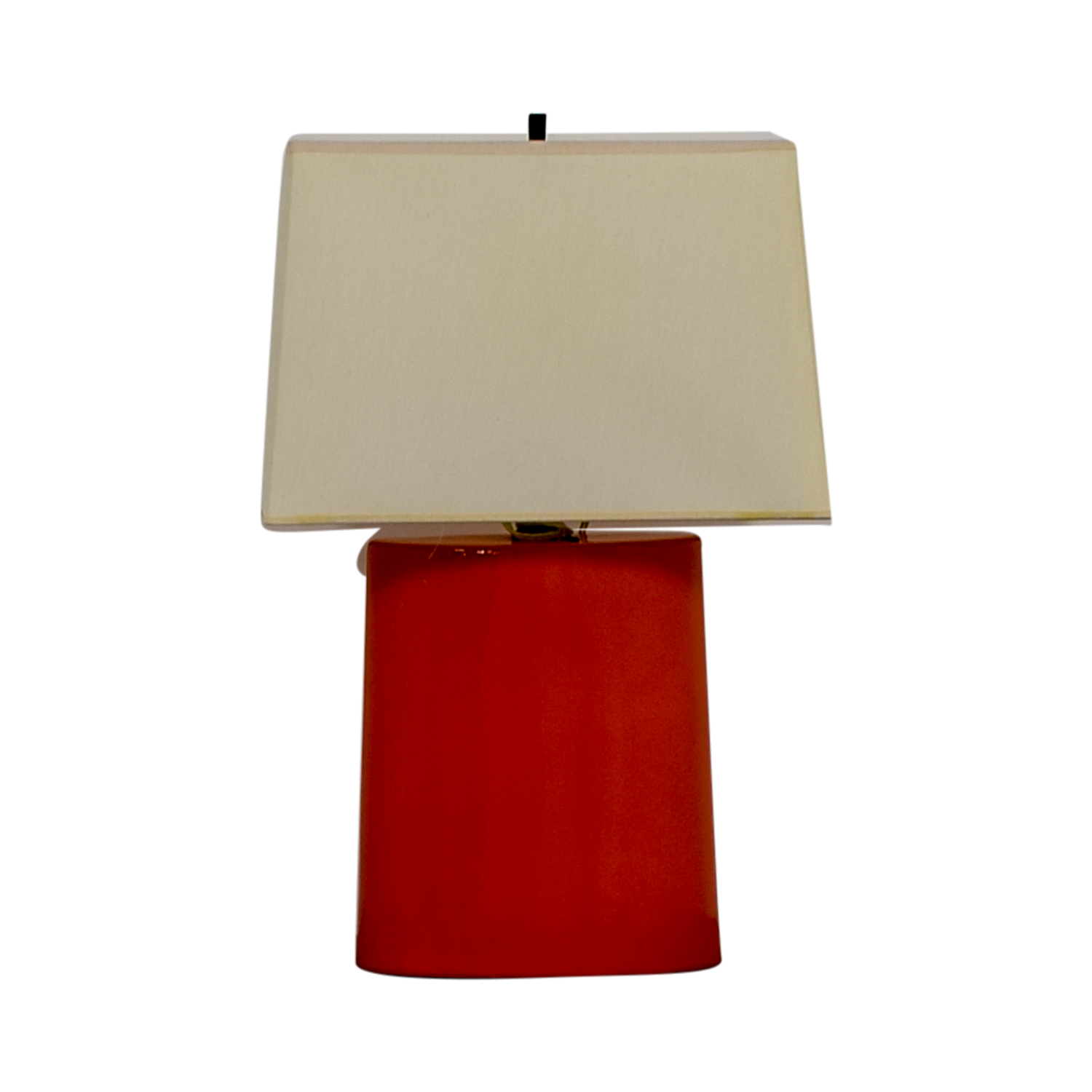 buy Crate & Barrel Boka Persimmon Table Lamp Crate & Barrel Lamps