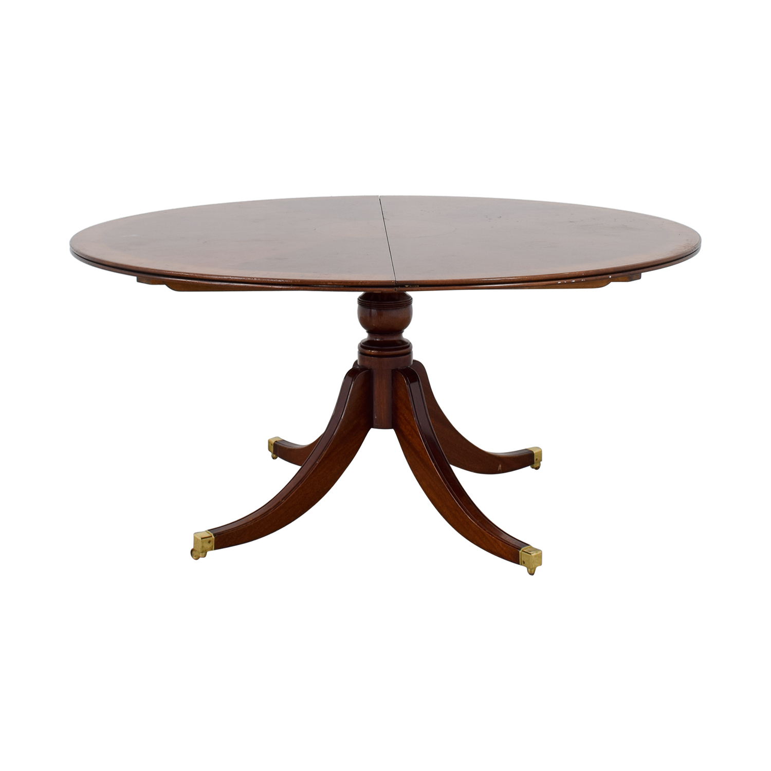 buy Scully & Scully Mahogany Round Dining Table with Extension Scully & Scully Sofas