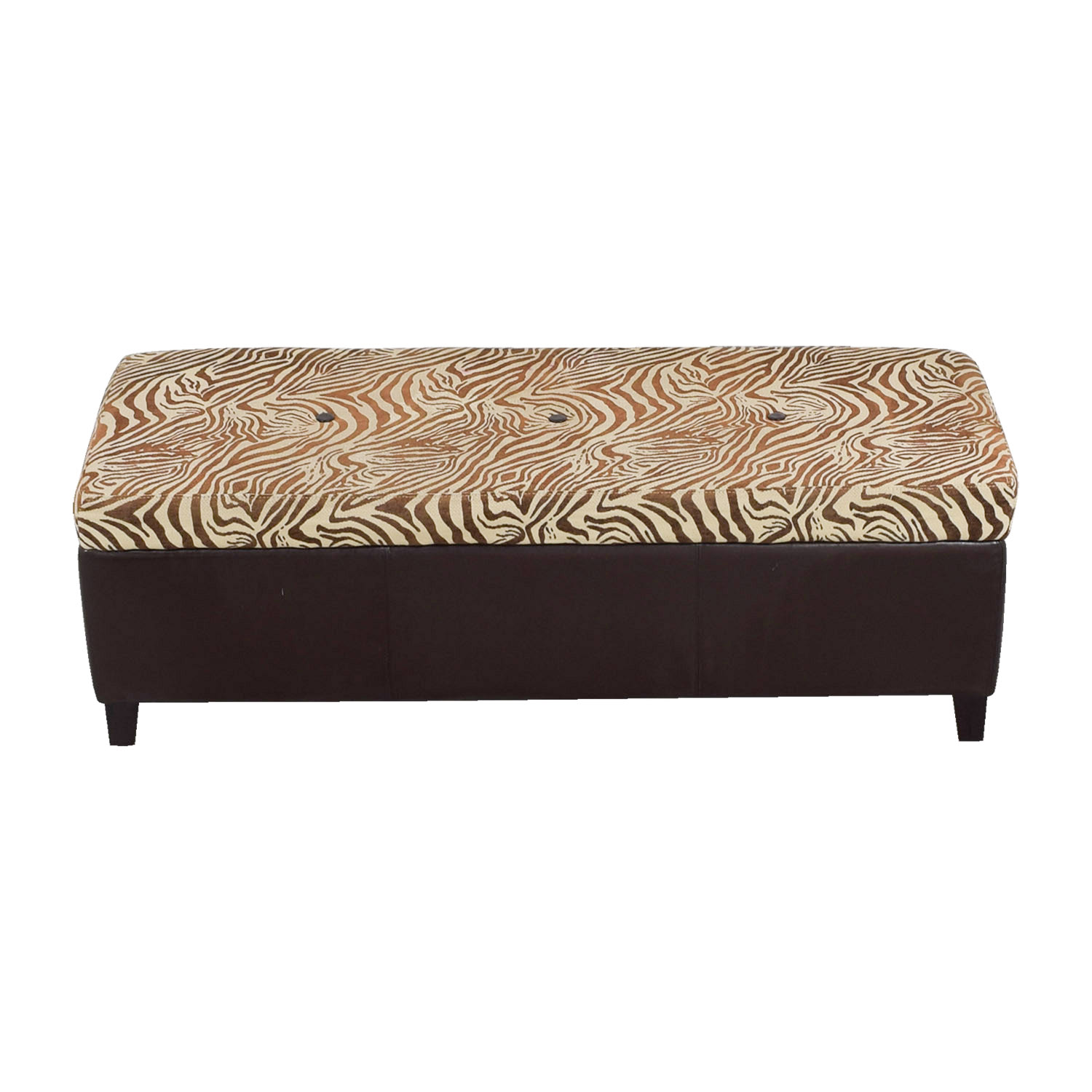 buy Pier 1 Imports Brown Zebra Storage Trunk Pier 1 Imports Chairs