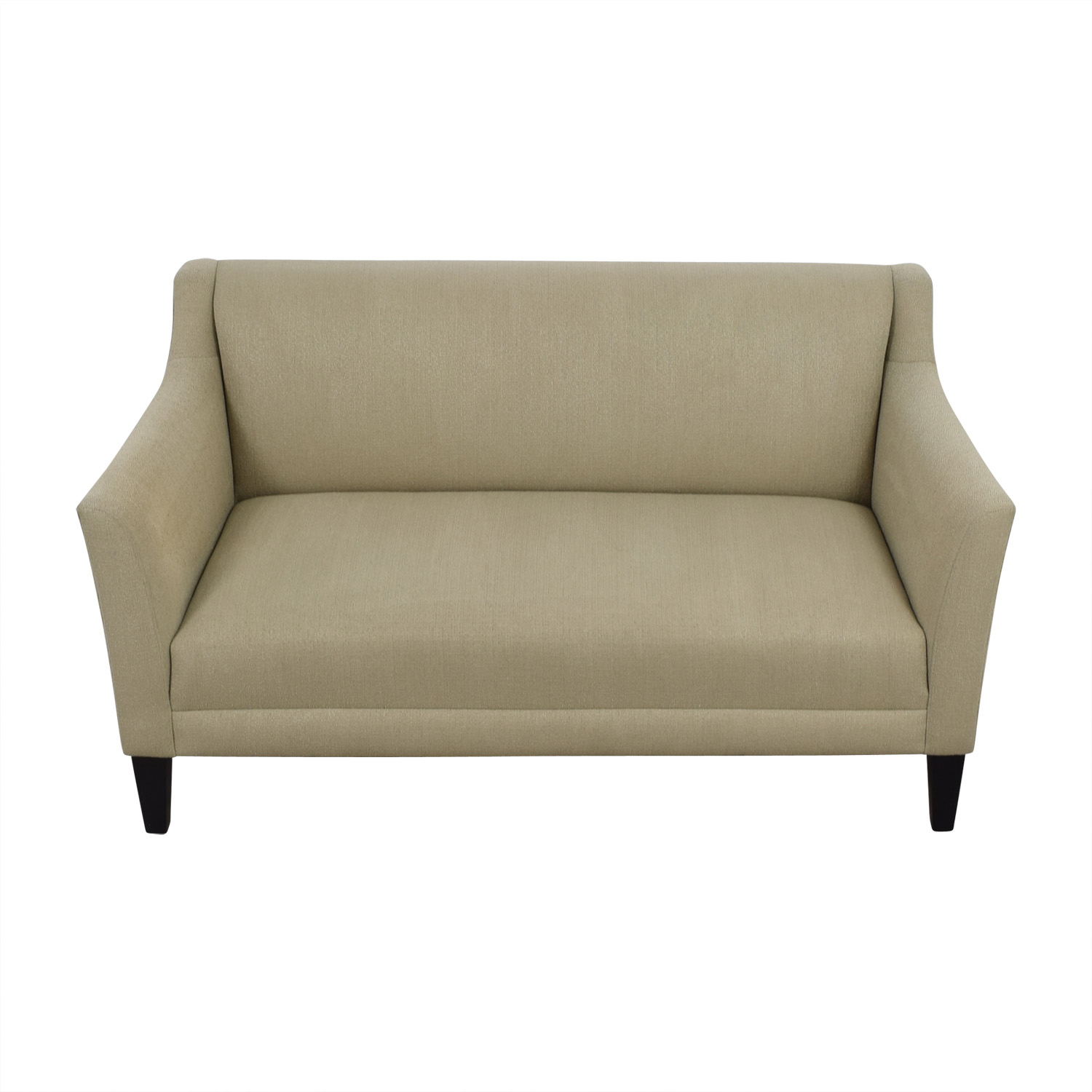 Crate & Barrel Crate & Barrel Margot Platinum Beige Loveseat Loveseats
