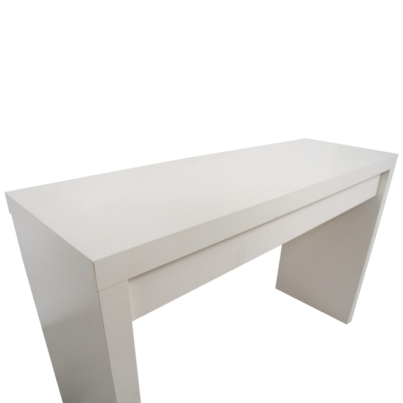 IKEA Malm White Single Drawer Narrow Desk Or Table / Tables
