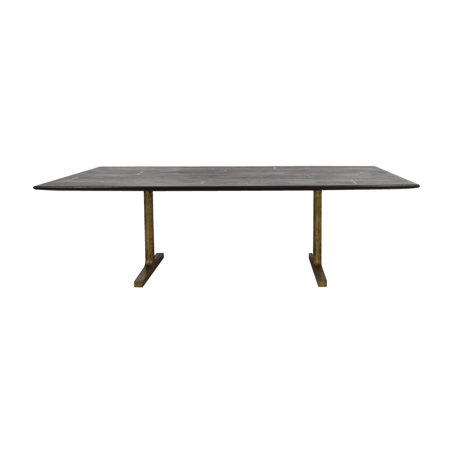 BDDW BDDW Bronze Trestle Table for sale