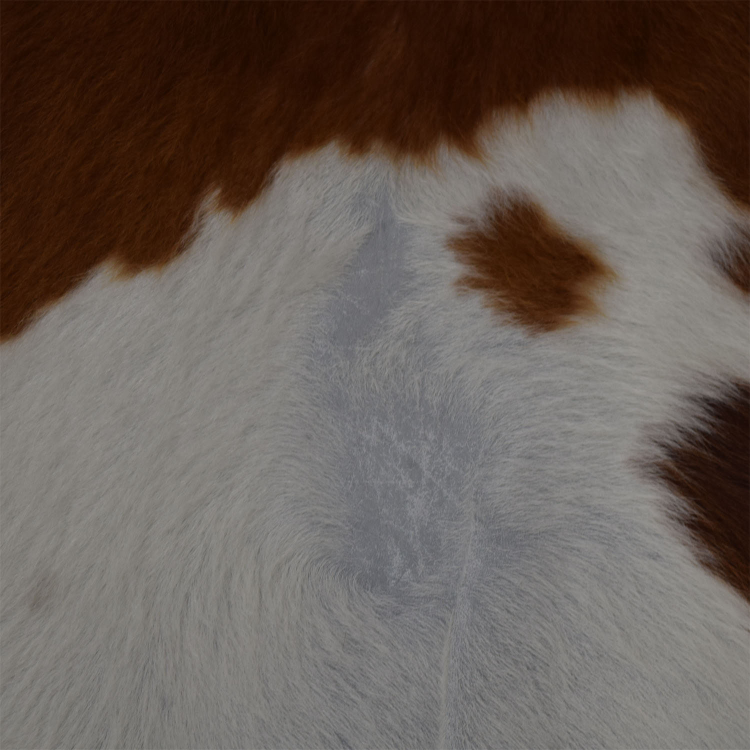 Ecowhides Ecowhides Cowhide Brown and White Rug for sale
