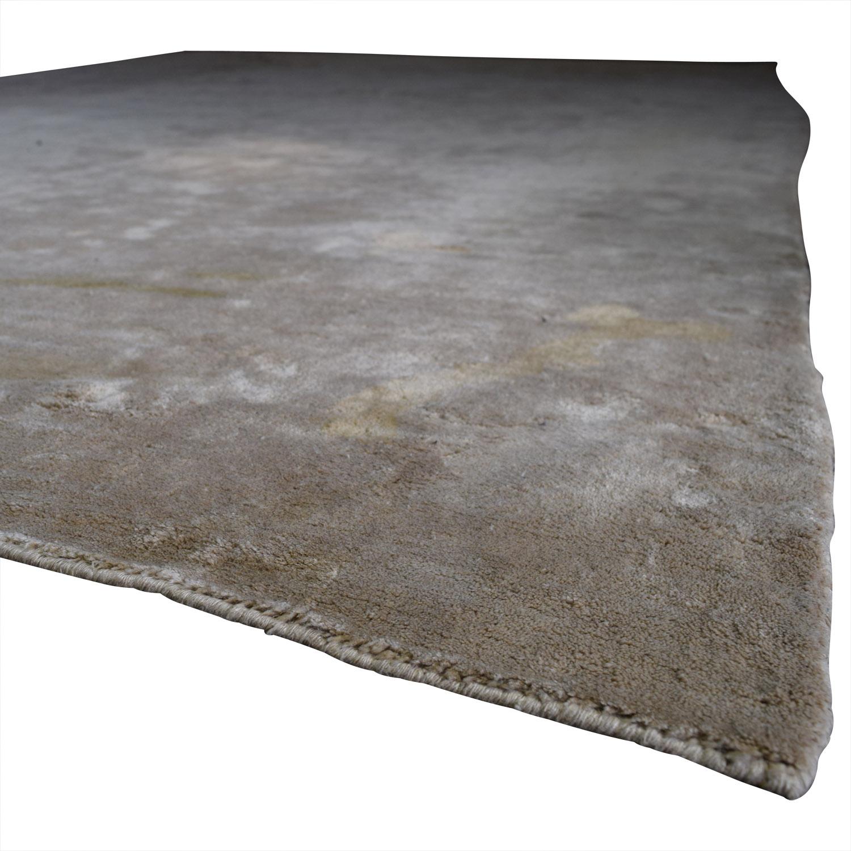 ABC Carpet & Home ABC Carpet & Home Tan Rug Rugs