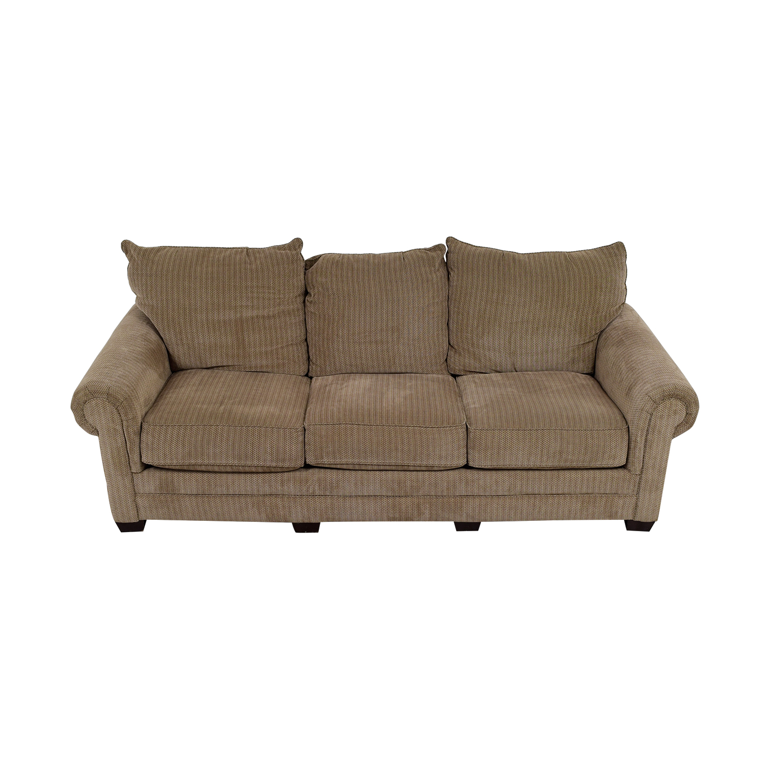 Tan Three-Cushion Couch coupon