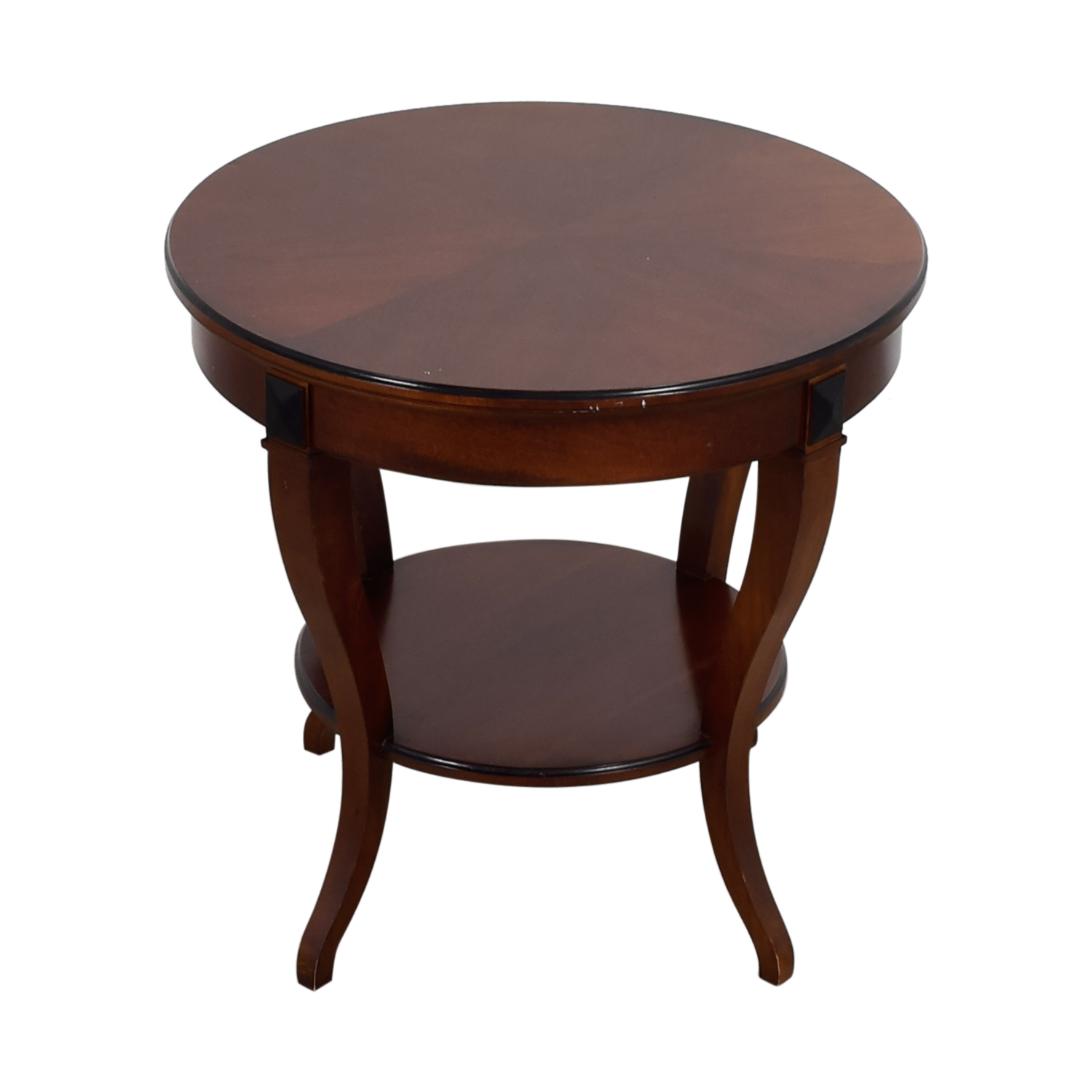buy Round Wood End Table Tables