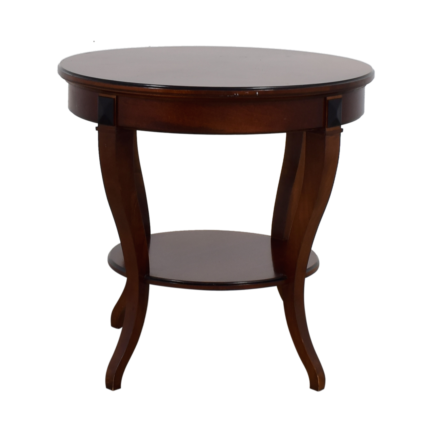 shop Round Wood End Table Tables