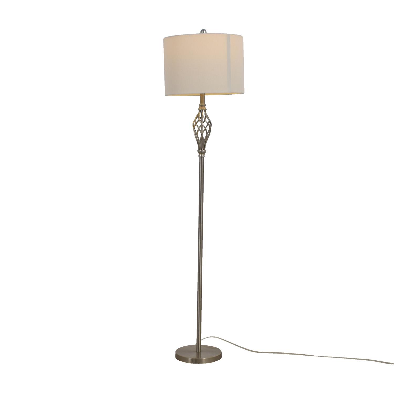buy Silver Decorative Floor Lamp Decor