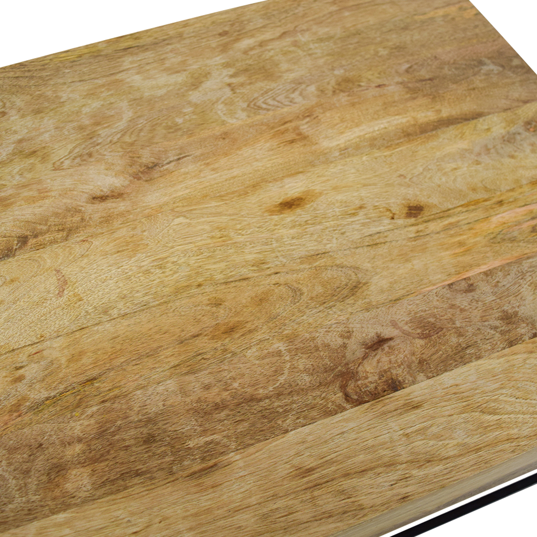 47 Off West Elm West Elm Rustic Wood Coffee Table Tables