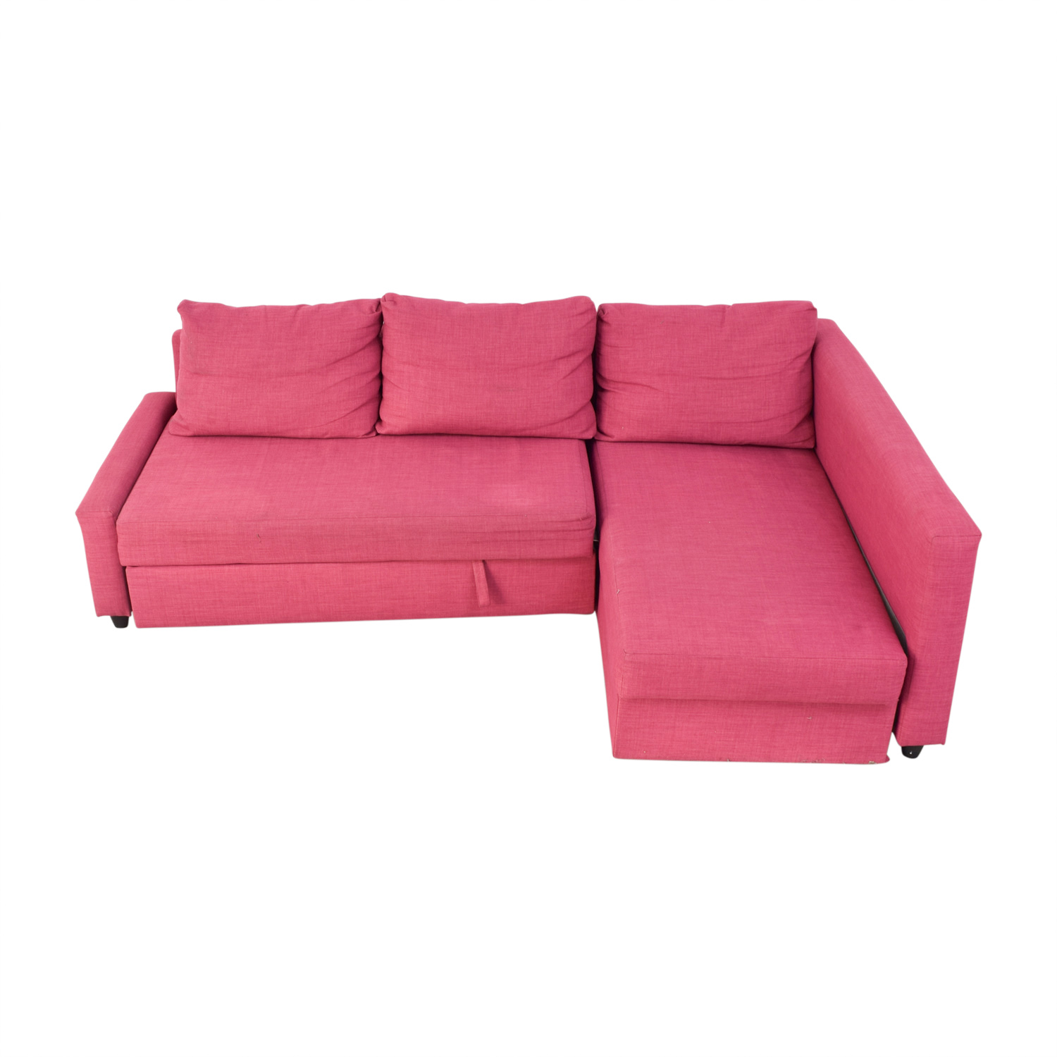 buy IKEA Pink Kivik Chaise Sectional IKEA Sofas