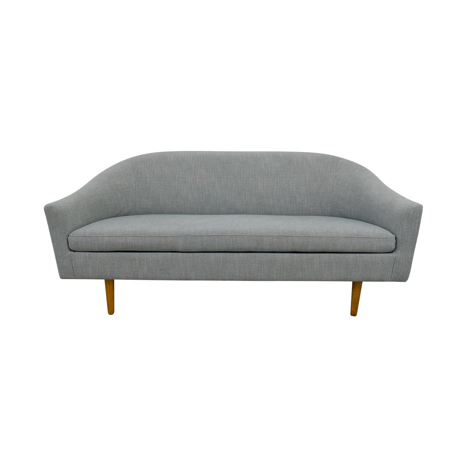 West Elm West Elm Blue Sofa dimensions