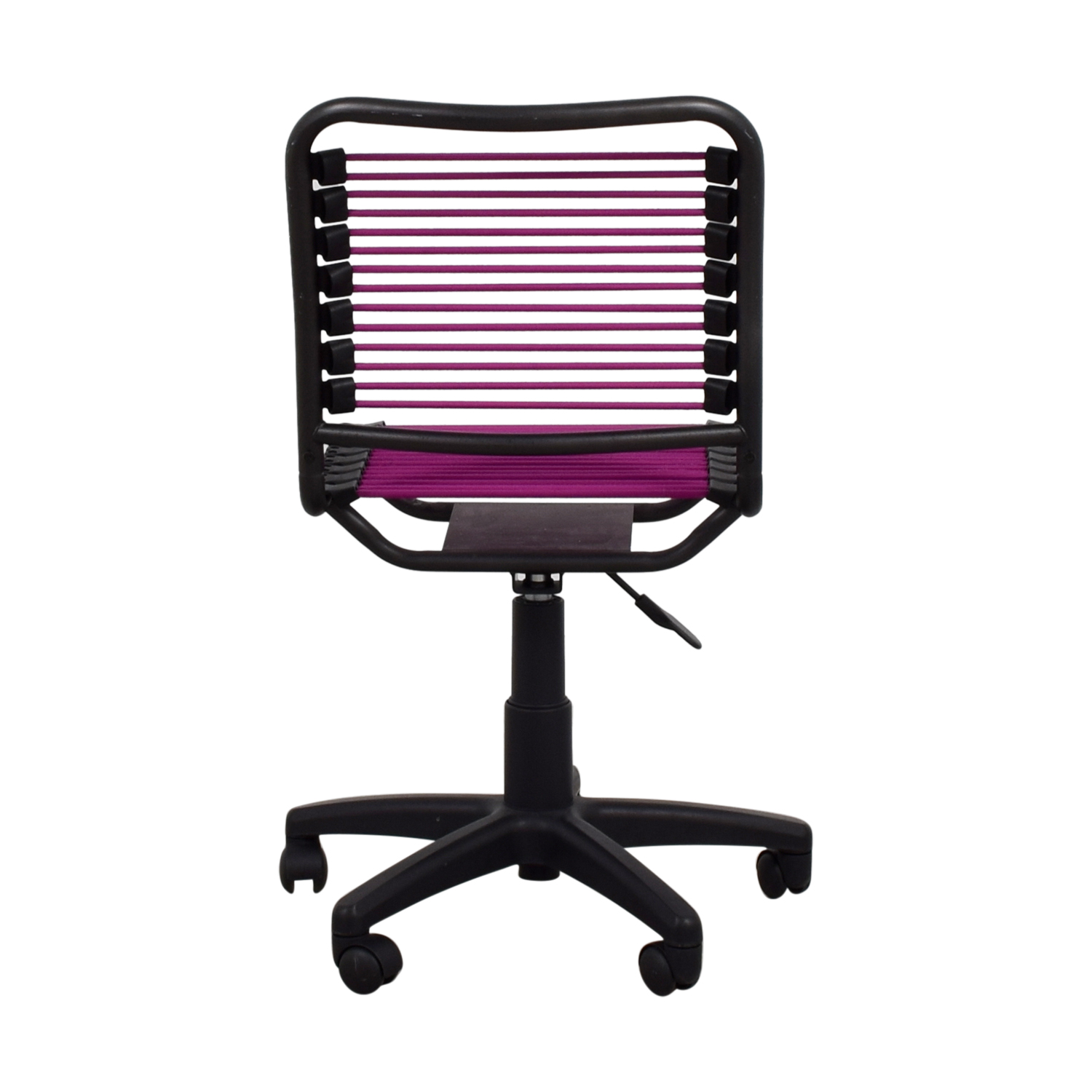 ... Container Store Container Store Magenta And Black Chair On Wheels Chairs  ...