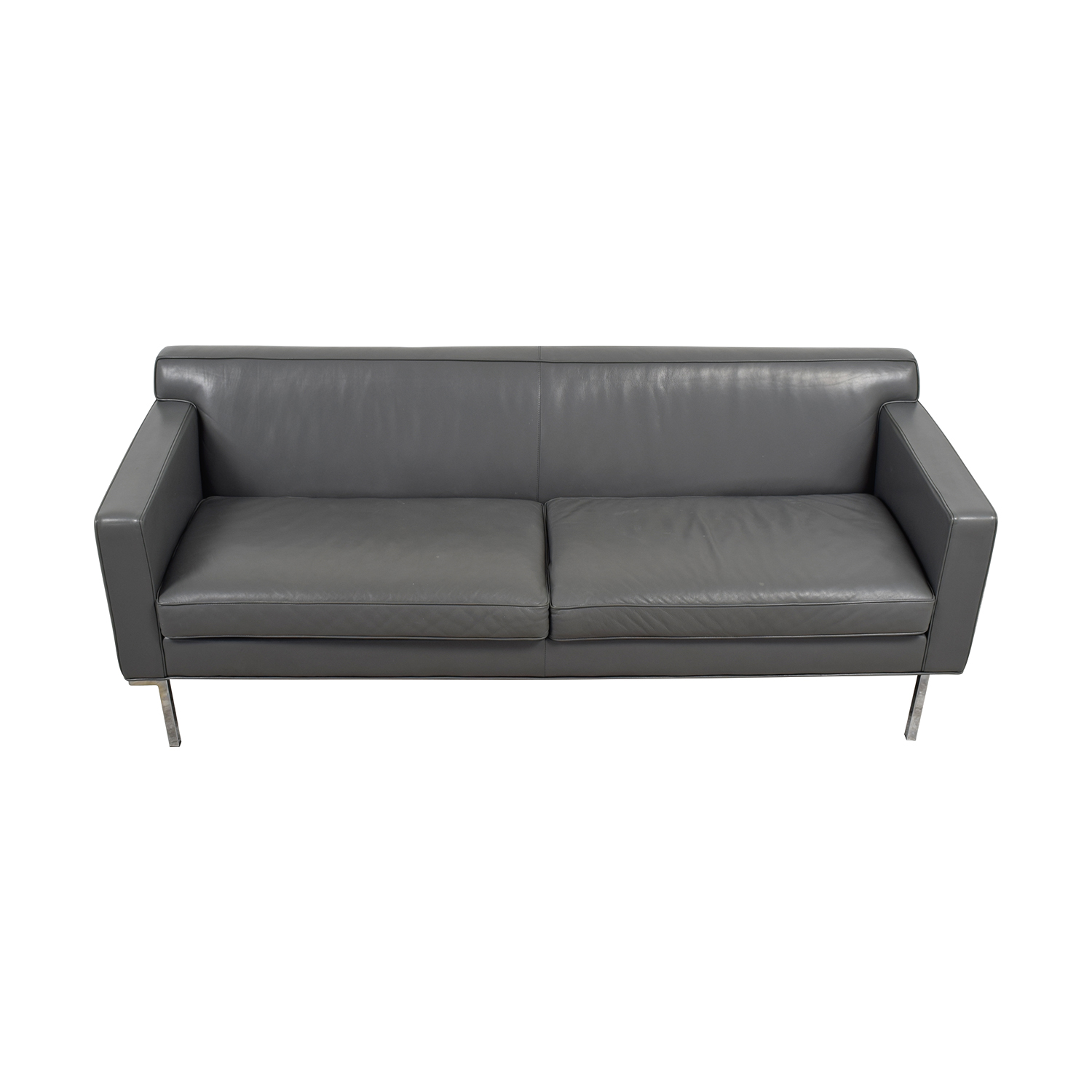 Design Within Reach Design Within Reach Theater Grey Sofa On Sale
