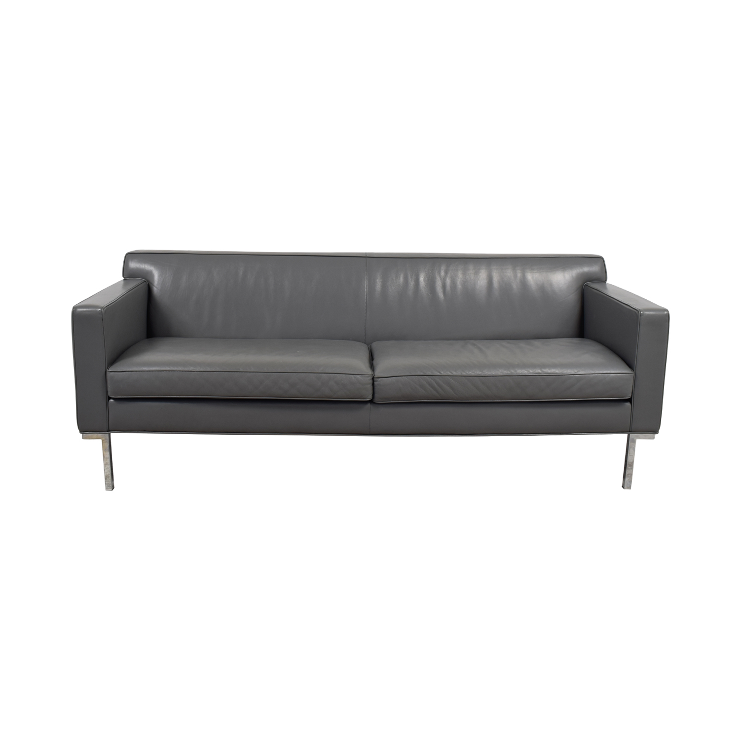 Design Within Reach Design Within Reach Theater Grey Sofa used