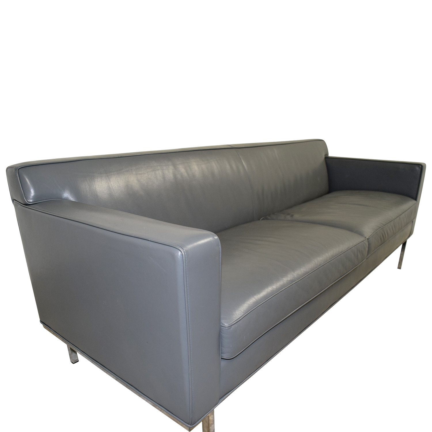 82 off design within reach design within reach theater grey sofa sofas. Black Bedroom Furniture Sets. Home Design Ideas