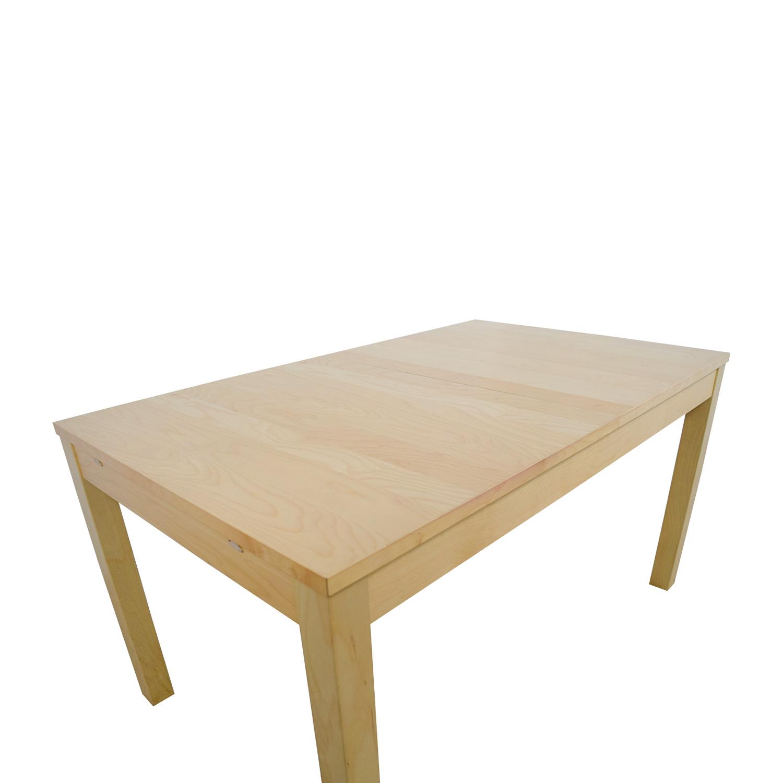 IKEA IKEA Bjursta Beech Veneer Table With
