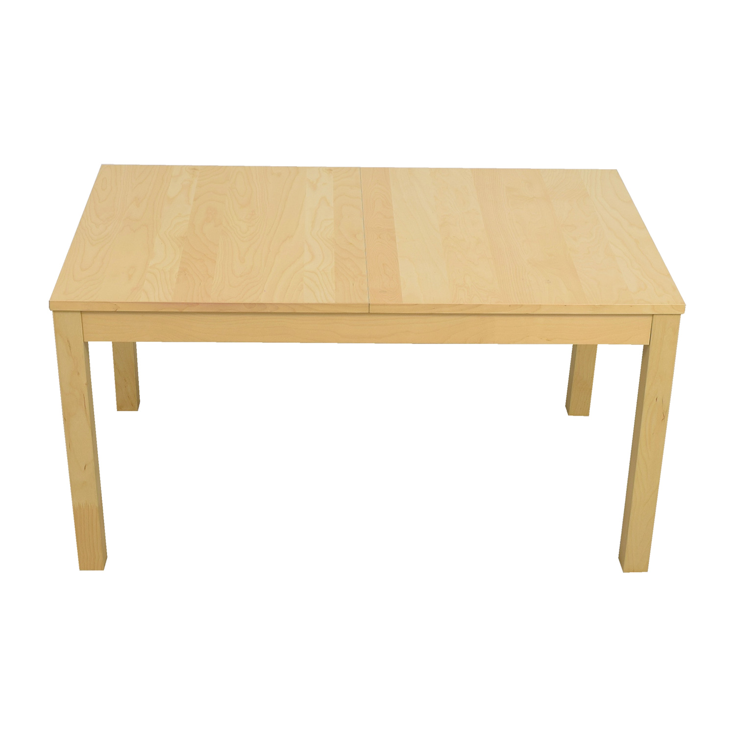 IKEA IKEA Bjursta Beech Veneer Table with Pullout Extentions