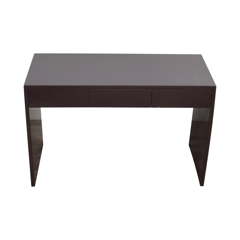 shop  Grey Two-Drawer Desk online