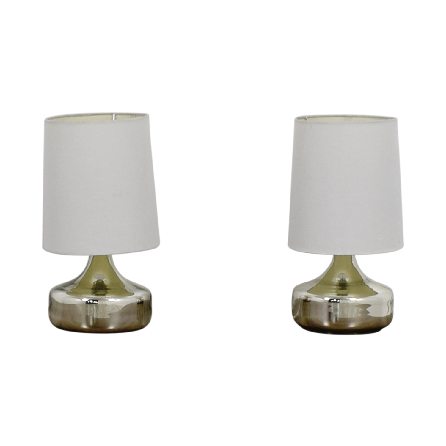 Crate and Barrel Crate & Barrel Silver Lamps price